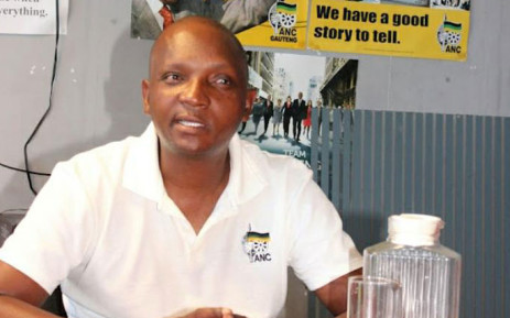 ANC ward councillor Tshepo Motaung. Picture: Supplied