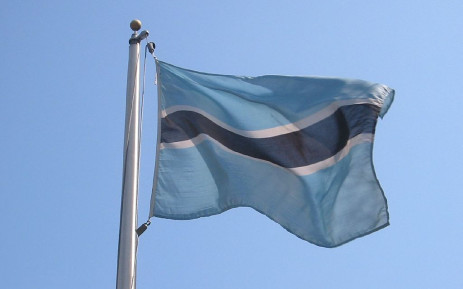 Botswana flag. Picture: Wikimedia Commons.