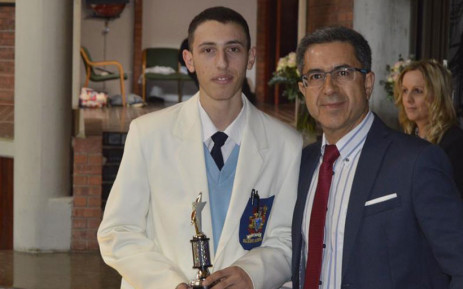Antonio Aristides, a matriculant from Saheti High School, who earned 8 distinctions despite being diagnosed with cancer. Picture: Supplied.