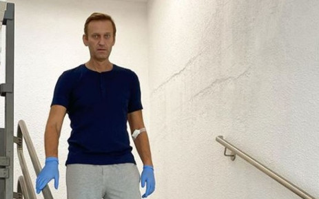 FILE: Russian opposition leader Alexei Navalny in Berlin's Charite hospital. Picture: @navalny/ Instagram