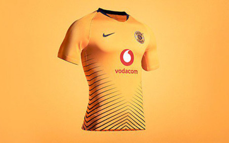 4053ef07247 The 2018 2019 Kaizer Chiefs home jersey. Picture   KaizerChiefs Twitter