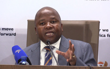 FILE: Cooperative Governance Minister Des Van Rooyen. Picture: Vumani Mkhize/EWN.