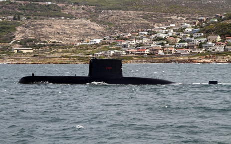 FILE: One of the submarines acquired by government in the arms deal.