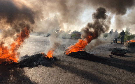 FILE: Ennerdale protest. Picture: EWN