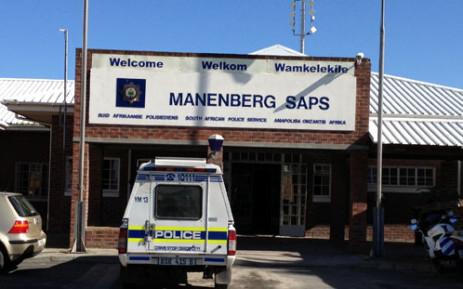 FILE: The Manenberg police station. Picture: Renee de Villiers/EWN.