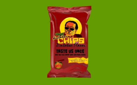 A brand of chips designed by Dutch artist Virginie Moerenhout includes Zimbabwe President Robert Mugabe among its range of flavours. Picture: Facebook