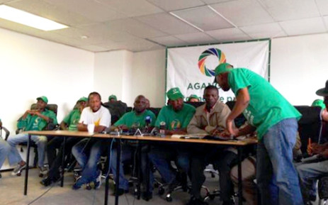 A group of Agang SA leaders hold a media briefing in Braamfontein, Johannesburg, to clear confusion following leader Mamphela Ramphele's decision to run for president on a Democratic Alliance ticket. 29 January 2014. Picture: Alex Eliseev/EWN.