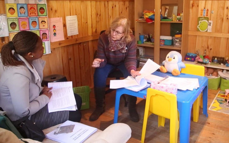 FILE: A counsellor during a session at the Hope House centre in Bergvliet Cape Town. Picture: Bertram Malgas /EWN