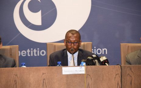 Competition Commission commissioner Thembinkosi Bonakele. Picture: @CompComSA/Twitter.