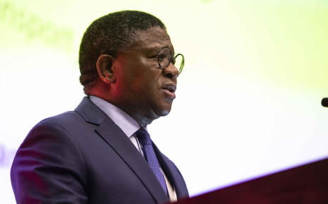 Transport Minister Fikile Mbalula at the 2019 Southern African Transport Conference. Picture: Abigail Javier/EWN
