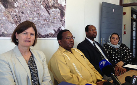 FILE: Commissioners at a sitting ahead of public hearings at the Commission of Inquiry into policing in Khayelitsha on 12 November, 2013. Picture: Rahima Essop/EWN.