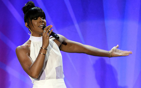 US Singer Kelly Rowland. Picture: AFP