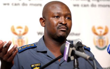 General Elias Mawela briefing media about all security-related operations for the Orange Africa Cup of Nation 2013. Picture: GCIS.