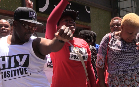 TAC members singing during their reunion in Johannesburg, December 1 2014. Picture: Vumani Mkhize/EWN.