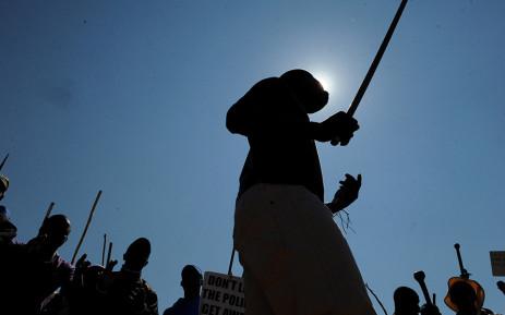 FILE: Marikana rituals. Picture: Supplied.