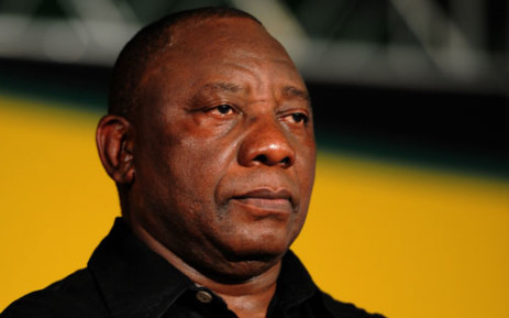 FILE: Cyril Ramaphosa is testifying at the inquiry about his involvement in the days leading up to the shooting.
