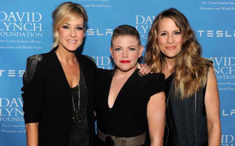 In this file photo taken in February 2014 are musicians Martie Maguire, Natalie Maines and Emily Robison of the band then known as the Dixie Chicks. In June 2020 the band announced it would change its name to The Chicks. Picture: AFP
