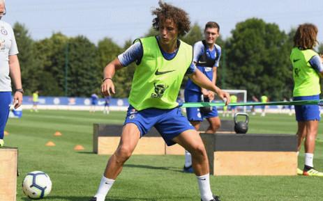 Chelsea's David Luiz. Picture: Facebook.