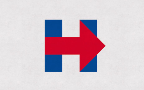 Hillary Clinton's 2016 presidential campaign logo. Picture: HillaryClinton.com