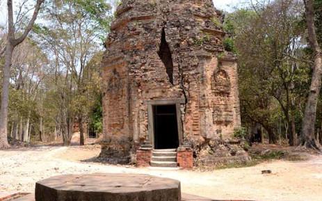 Archaeological site Sambor Prei Kuk has been registered on World Heritage List. Picture: Twitter/@UNESCO_fr.
