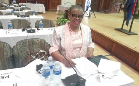 FILE: Former eThekwini Mayor Zandile Gumede on 29 May 2019. Picture: Nkosikona Duma/EWN.