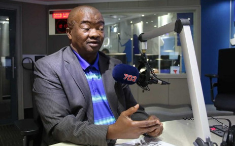 Bantu Holomisa on Radio702. Picture: @Radio702/Twitter