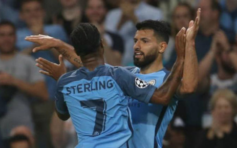 Manchester City's Sergio Aguero scored a hat-trick as coach Pep Guardiola maintained his 100 percent record at the club with a commanding 4-0 victory against Borussia Moenchengladbach. Picture: Facebook.