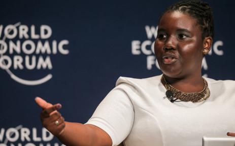 World Economic Forum Global Shaper Zamantungwa Khumalo. Picture: World Economic Forum.