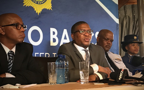FILE: New police minister Fikile Mbalula at the Police academy in Pretoria West. Picture: Kgothatso Mogale/EWN