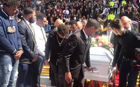 Rugby legend Chester Williams was laid to rest during a special provincial official funeral at Newlands Stadium in Cape Town, on 14 September 2019. Picture: Shamiela Fisher/EWN