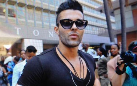 Christoff Becker, one of the so-called Waterkloof Four, walks after being released at the Correctional Services parole office in the Pretoria CBD on 11 February 2014. Picture: Barry Bateman/EWN.