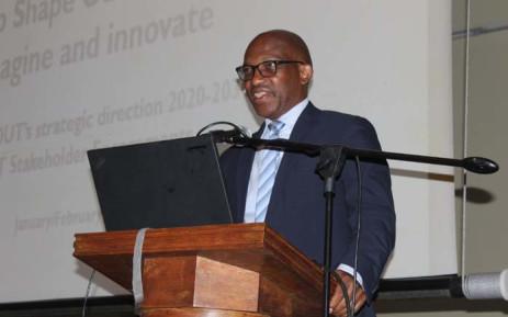 Durban University of Technology Vice-Chancellor and Principal Professor Thandwa Mthembu. Picture: Facebook/@DurbanUniversityofTechnology.