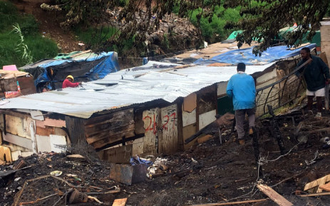 More than 90 shacks were destroyed in a shack fire in Jika Joe informal settlement in Pietermaritzburg. Picture: Nkosikhona Duma/EWN