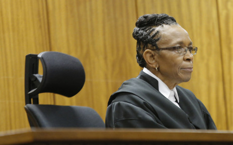 Judge Thokozile Masipa sits in the High Court in Pretoria on 9 December, 2014. Picture: Pool.