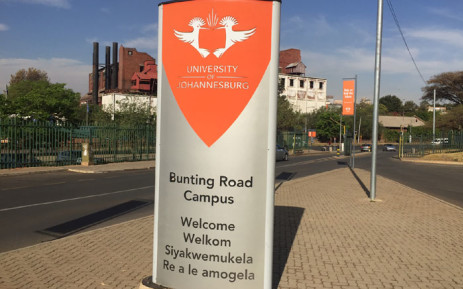 University of Johannesburg Bunting Road campus. Picture: Kgothatso Mogale/EWN