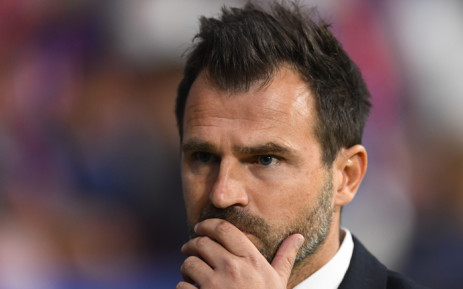 Club Brugge's Croatian coach Ivan Leko looks on during the UEFA Champions League group A football match between Club Atletico de Madrid and Club Brugge at the Wanda Metropolitano stadium in Madrid on 3 October 2018. Picture: AFP