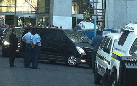 Shrien Dewani arrives at the Western Cape High Court. Graeme Raubenheimer/EWN.