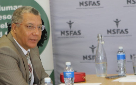 National Student Financial Aid Scheme (NSFAS) administrator, Dr Randall Carolissen. Picture: @myNSFAS/Twitter