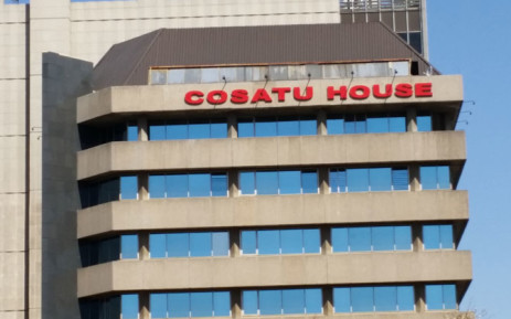 Congress of South African Trade Union (Cosatu) house in Braamfontein, Johannesburg. Picture: Janice Healing/EWN.