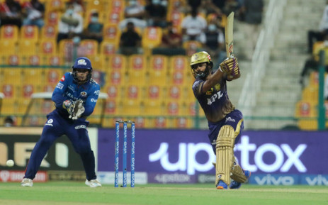 The Kolkata Knight Riders beat the Mumbai Indians in the Indian Premier League match on 23 September 2021. Picture: @IPL/Twitter