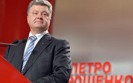 Ukraine's President Petro Poroshenko. Picture: AFP.