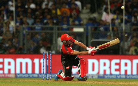 AB De Villiers has scored over 300 runs in this season's tournament, but his RCB side remain bottom of the table. Picture: @IPL/Twitter