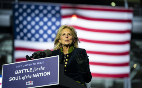 FILE: US First Lady Jill Biden. Picture: AFP