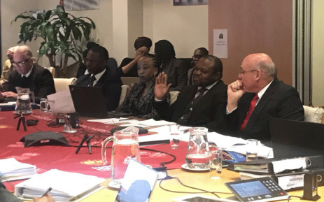 FILE: Head of the KwaZulu Natal Health Department Musa Gumede gives evidence before the SAHRC on the province's oncology crisis. Picture: Masego Rahlaga/EWN