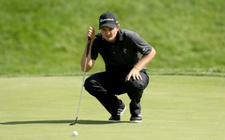 FILE: Justin Rose of England lines up a putt on the 17th hole during the third round of The Memorial Tournament presented by Nationwide at Muirfield Village Golf Club on 6 June, 2015 in Dublin. Picture: AFP.