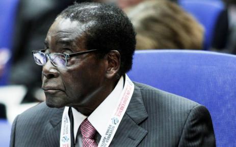 FILE: President of Zimbabwe Robert Mugabe. Picture: AFP