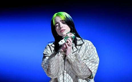 Five-time Grammy award winner Billie Eilish. Picture: @RecordingAcad/Twitter