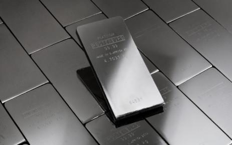 A 5kg platinum bar from Anglo American Platinum. Picture: angloamericanplatinum.com