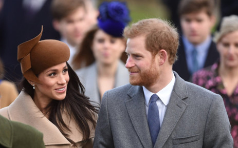 file prince harry and meghan markle joined members of the royal family for the morning