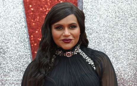 US actor Mindy Kaling poses on the carpet upon arrival to attend he European premiere of the film  'Ocean's 8 in London on 13 June 2018. Picture: AFP